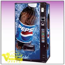 Refurbished Soda Vending Machines Extraordinary Refurbished DixieNarco 48 Pepsi Soda Vending Machine 4848