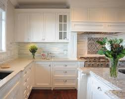 All White Kitchen Kitchen New Kitchen Cabinets And Countertops Combination For