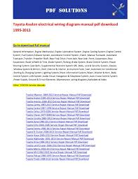 toyota runner wiring diagram image toyota prado wiring diagram pdf toyota image on 2005 toyota 4runner wiring diagram