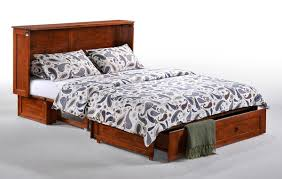 queen size bed with mattress included.  Queen Queen Size Cabinet Bed  Mattress Included And With