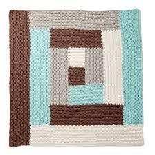 Log Cabin Crochet Pattern