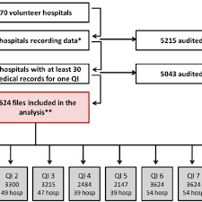 Flow Chart Of Hospital And Medical Record Numbers Reasons