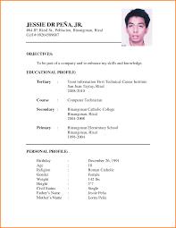 Sample Job Application Resume 100 example of resume apply job beginners resume 16