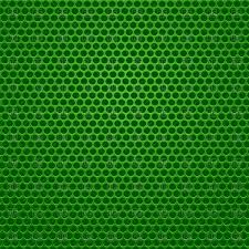 Perforated Metal Green Background Stock Vector Image