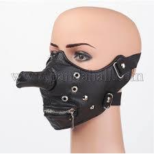 punk rock style pu leather masks ajew d038 13 1