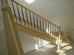 Escalier Bois Rampe Bois M Tal