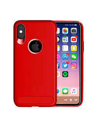 Apple Iphone X Usams Soft Tpu Back Case Cover Red Amazonae