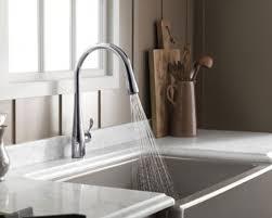 kohler kitchen faucets. Kohler K-596-CP Simplice Single Hole Pulldown Kitchen Faucet Faucets