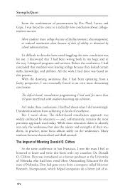 strengths quest book  chapter ithe nature of strengths