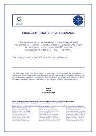 Cme Certificate Template Sample Pdf Sample Certification Letter