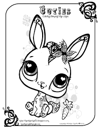 Small Picture Littlest Pet Shop Coloring Pages For Kids And For Adults