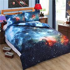 nebula bedding galaxy bedding sets single double twin queen bedclothes bed linen universe outer space duvet nebula bedding