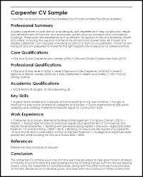 Lead Carpenter Resume Lead Carpenter Resume Download Resume For