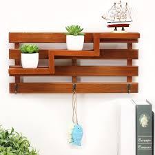 wooden corner wall shelf wood bathroom shelves storage box handmade