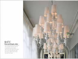spain jaime hayon design suspension chandelier post modern pure led chandelier villa foyer 4 colors paint metal chandelier light