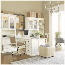 white airy home office. Home Office White Furniture And Airy Like The Way Desks Bump Out So 2 N