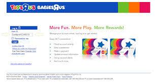 subactionid 1000 clientid tru accounttype generic toys r us credit card login