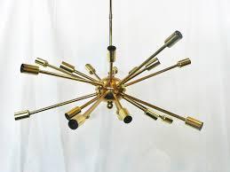 mid century chandelier mid century modern chandeliers mid century atomic lamp