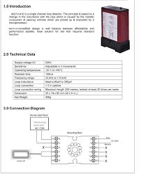 loop detector wiring diagram simple wiring diagrams inductive single chanel safety loop detector 230v 110v 24v 12v power trailer wiring diagram inductive single