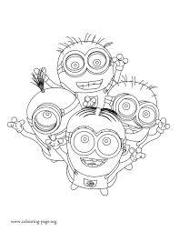 Small Picture How about to print and color this amazing picture of the minions