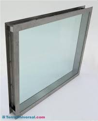 two sided picture frame double flush mounted stainless steel frame holds window panes in place dimensions two sided picture frame