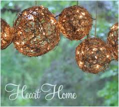 diy outdoor lighting. Grapevine Spheres Outdoor Lights DIY Diy Lighting