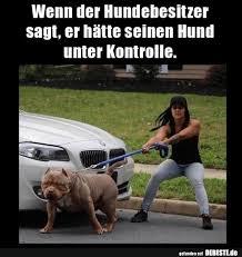 Wenn Der Hundebesitzer Sagt Er Hätte Seinen Hund Unter Kontrolle