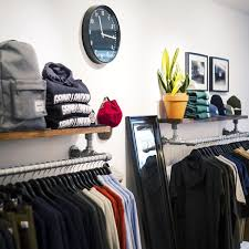 diy wall mounted clothing rack with top