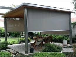 bamboo patio shades