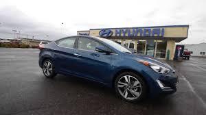 hyundai elantra 2014 blue. Brilliant Blue 2014 Hyundai Elantra Limited  Blue EU064067 Skagit County Mt Vernon   YouTube Throughout 0