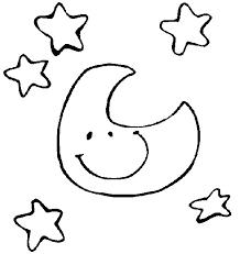 Zon Maan En Sterren Kleurplaat 25 Kleurplaten Maan En Sterren