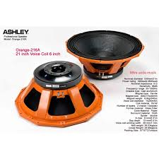 component speaker ashley orange 216A | Shopee Indonesia