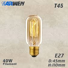 Online Shop <b>KARWEN LED Filament Edison</b> Bulb Decorative 3D ...