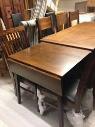 beautiful dark wood dining table and two chairs 220 set