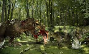 Image result for t rex vs giganotosaurus winner