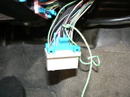 grand am passlock security system repair middle connector pertinent wires isolated