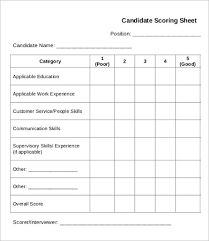 Score Card Template Score Sheet Template 26 Free Word Pdf Documents Download Free