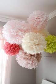 tissue paper flower centerpiece ideas tissue paper pom poms tutorial inspiration of hanging paper flowers
