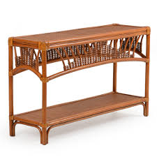 rattan console table. Bail Console Table Rattan C