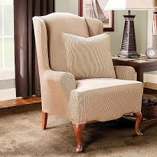 slip covers chair. Slip Cover For Wing Back Chairs Best Of Slipcovers Wingback Trendy Covers Chair