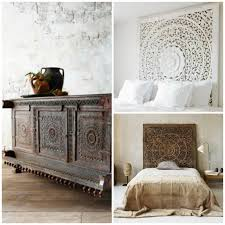 carved wood panel headboards and cabinet shutters via paint pattern in headboard plans 16