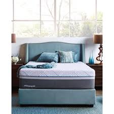 king size mattress. Hybrid Firm Queen-Size Mattress With 9 In. High Profile Foundation King Size