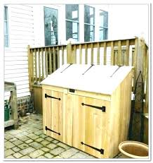 outdoor trash can storage outdoor garbage can storage garbage can storage plans garbage storage cabinet garbage outdoor trash can storage