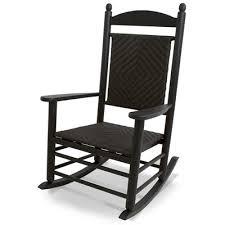 cracker barrel white rocking chairs. Wonderful White POLYWOOD  AllWeather Jefferson Woven Rocker With Cracker Barrel White Rocking Chairs