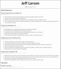 Security Officer Resume Examples Sample Security Officer Resume Luxury Security Guard Resume Sample 24