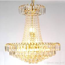 modern tiered crystal and chrome chandelier lighting classic gold