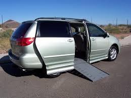 2006 Toyota Sienna XLE Wheelchair Handicap Mobility Van for sale ...