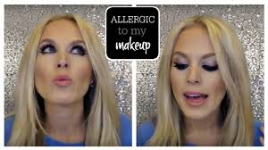 I am Allergic to EVERYTHING! - Eye Makeup - YouTube