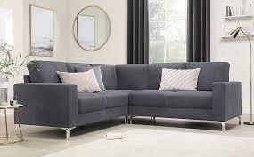 baltimore slate grey plush fabric