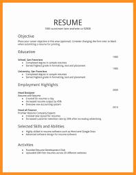 5 Basic Resume Format For Students Scholarship Letter